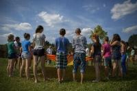 Летний лагерь, август 2014 #караван #инино #праздник_10